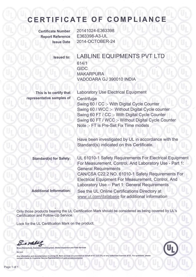Labline equipments vadodara india iso certificate and ce iso 90012008 xflitez Images